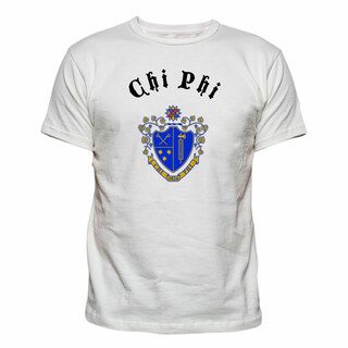 Chi Phi Vintage Crest - Shield T-shirt