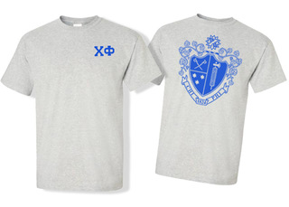 Chi Phi World Famous Crest - Shield Tee