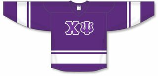 DISCOUNT-Chi Psi Breakaway Lettered Hockey Jersey