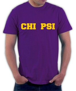 Chi Psi College Shirt