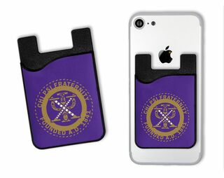 Chi Psi Crest Card Wallet