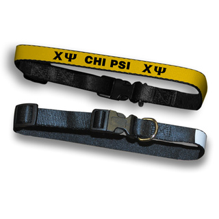 Chi Psi Dog Collar