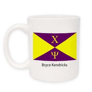 Chi Psi Flag Coffee Mug