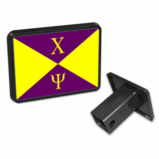Chi Psi Flag Trailer Hitch Cover
