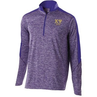 Chi Psi Fraternity Electrify 1/2 Zip Pullover