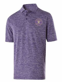 Chi Psi Greek Crest Emblem Electrify Polo
