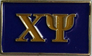 Chi Psi Lapel Pin