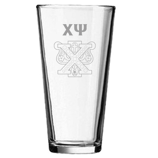 Chi Psi Mixing Glass