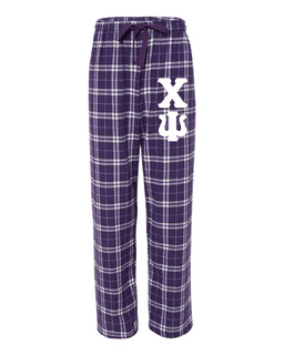 Chi Psi Pajamas Flannel Pant