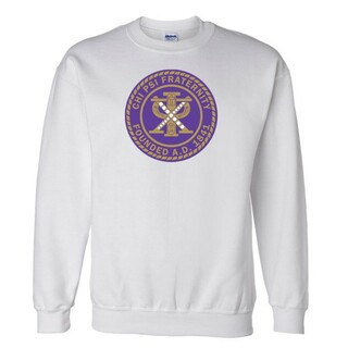 Chi Psi Seal Crewneck Sweatshirt