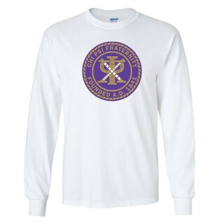 Chi Psi Seal Long Sleeve Tee