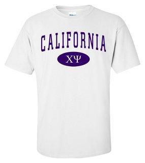 Chi Psi State Shirt