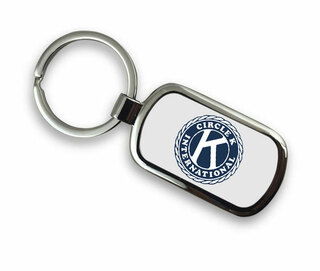 Circle K Chrome Key Chain