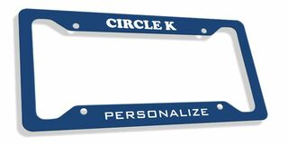Circle K Custom License Plate Frame
