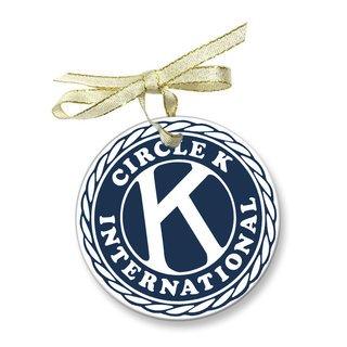 Circle K Holiday Glass Ornaments