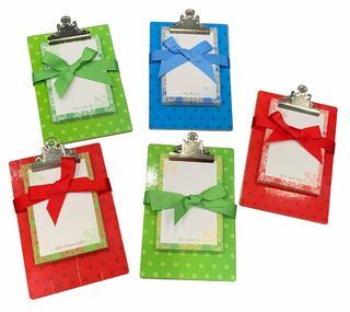 Closeout Sorority Mini clipboard and pad set