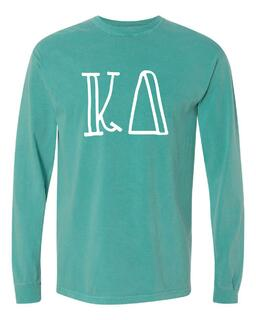 Comfort Colors Greek Long Sleeve T-Shirt