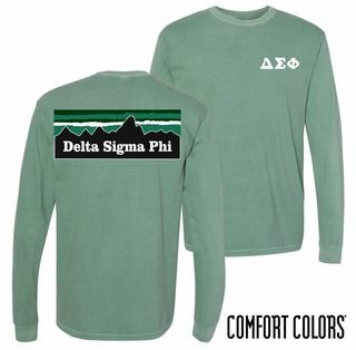 Comfort Colors Mountain Long Sleeve Tee