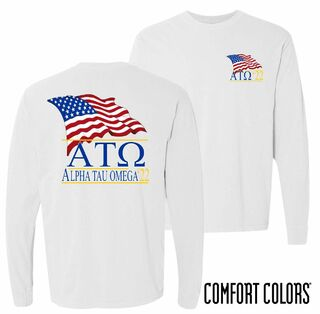Comfort Colors Patriot Long Sleeve Tee