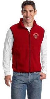 Crest Fleece Fraternity & Sorority Vests