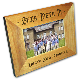 Custom Fraternity Picture Frame