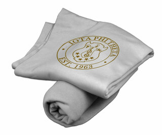 Custom Greek Sweatshirt Blanket