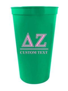 Custom Greek Symbolized Stadium Cup