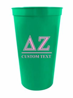 Custom Greek Symbolized Stadium Cup