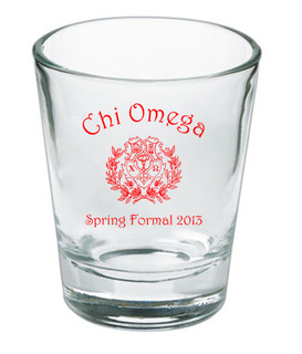 Custom Printed Short Glass Design #15
