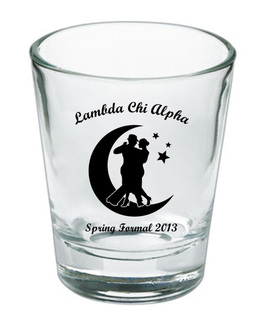 Custom Printed Short Glass Design #4