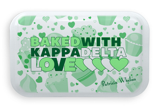 Custom Sorority Baked With Love Cake Pan