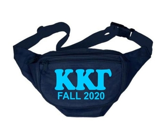 Custom Sorority Letters Fanny Packs