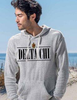 Delta Chi 2020 Crest Lucas Loop Fleece Hood