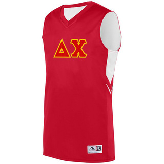 DISCOUNT-Delta Chi Alley-Oop Basketball Jersey