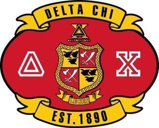 Delta Chi Banner Crest - Shield Decal