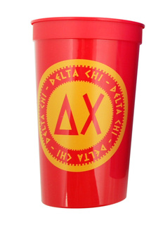 Set of 10 - Delta Chi Big Ancient Greek Letter Stadium Cup - Clearance!!!