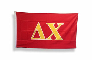 Delta Chi Big Greek Letter Flag