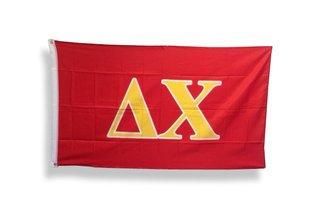 Delta Chi Big Greek Letter Flag