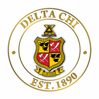 Delta Chi Circle Crest - Shield Decal