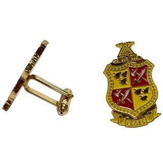 Delta Chi Color Crest - Shield Cuff links