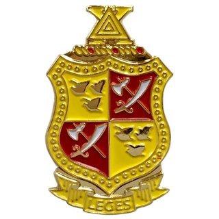 Delta Chi Color Crest - Shield Pins