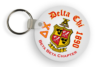 Delta Chi Color Keychains