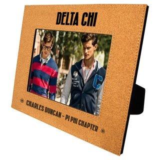 Delta Chi Cork Photo Frame