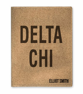 Delta Chi Cork Portfolio with Notepad