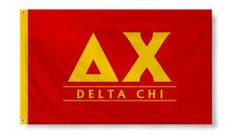 Delta Chi Custom Line Flag