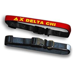 Delta Chi Dog Collar