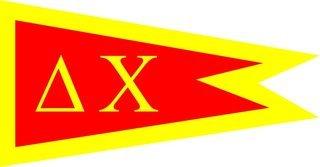 Delta Chi Flag Decal Sticker