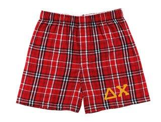 Delta Chi Flannel Boxer Shorts