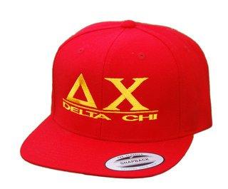 Delta Chi Flatbill Snapback Hats Original