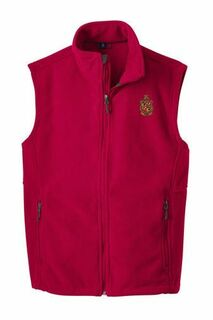Delta Chi Fleece Crest - Shield Vest